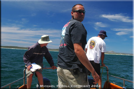 White Shark Trust - Field Research Assistant - November 2004